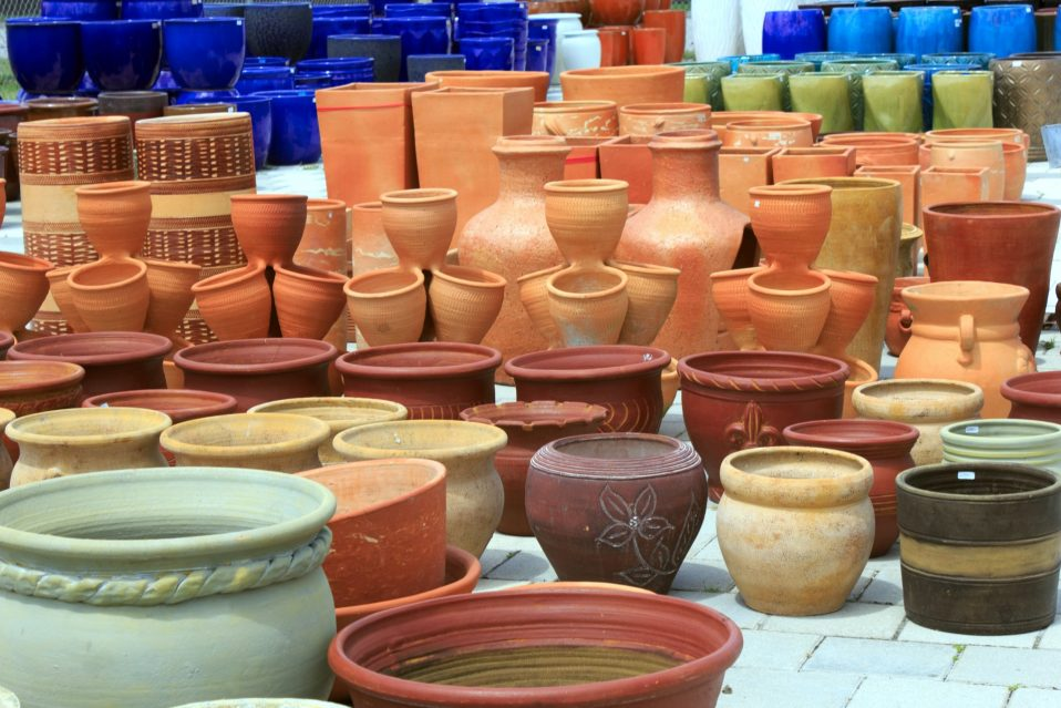 Plant Pots, Ceramics, and Container Gardening Miami