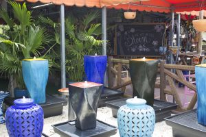 Fountains in Miami