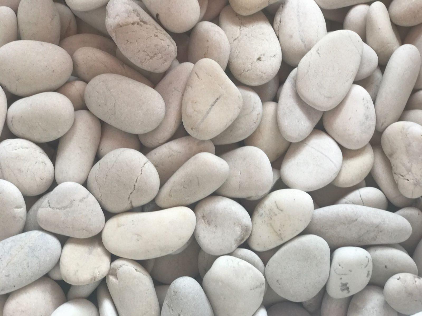 White Beach Pebble